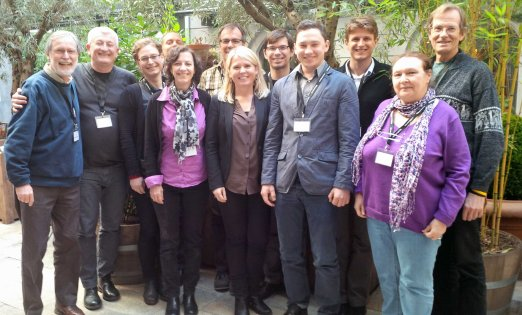 Participants of the CACCON initiating workshop, Copenhagen, April 14-16 2014